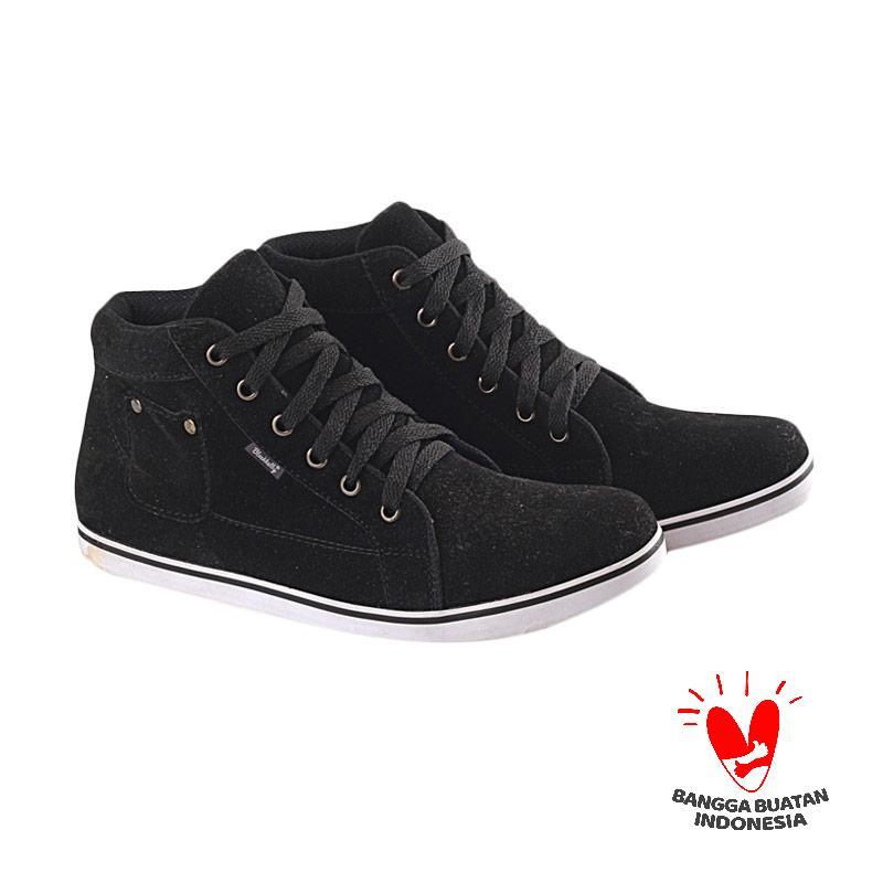 Blackkelly LHO 161 Hibiscus Kulit Sepatu Anak Casual