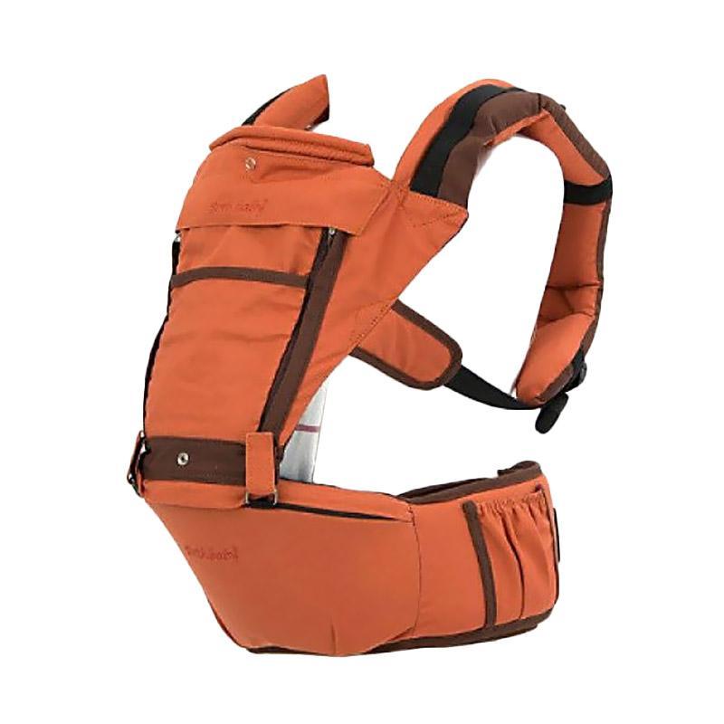 Both Baby Hipseat Carrier Cozy Gendongan Bayi - Orange