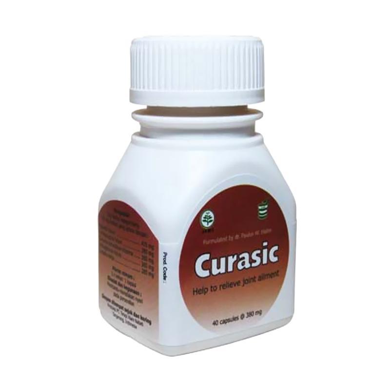 CurAsic Herbal untuk Asam Urat [40 Kapsul]