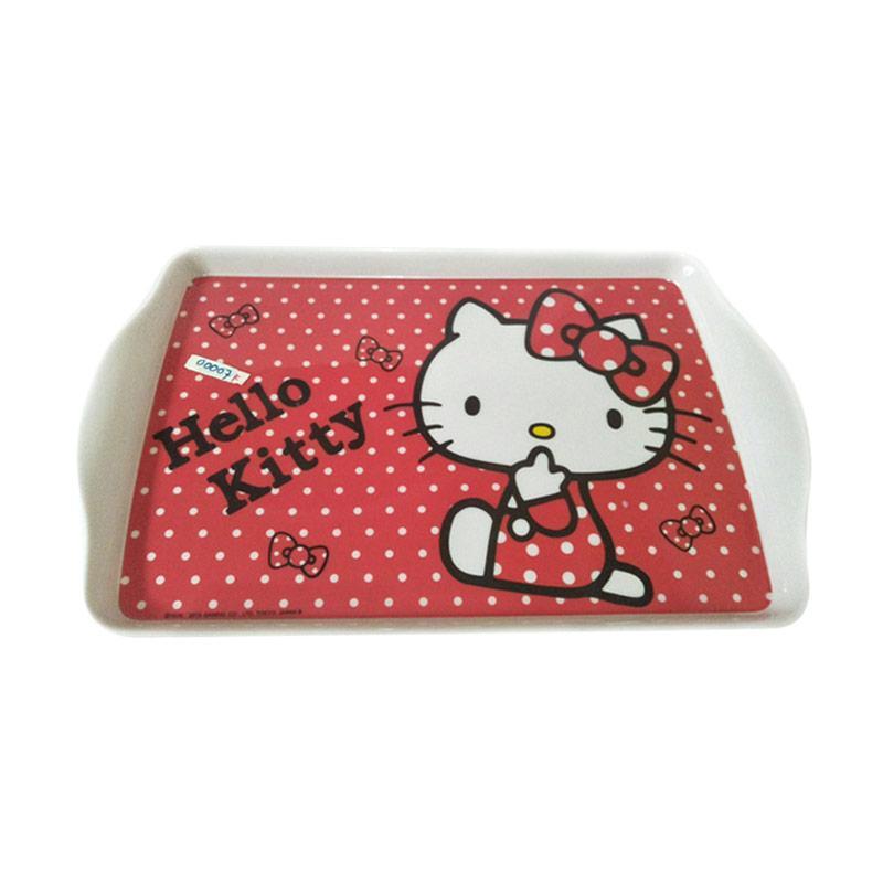 Hello Kitty Polkadot HK Baki Nampan - Pink White