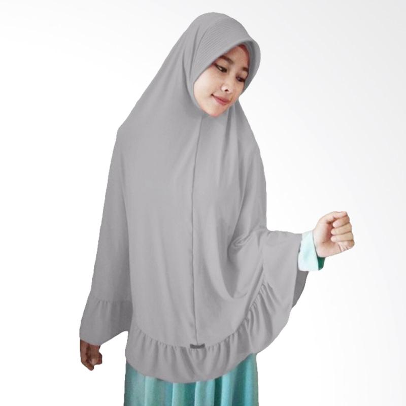Milyarda Hijab Instant Bergo Pet Ihrom - Silver