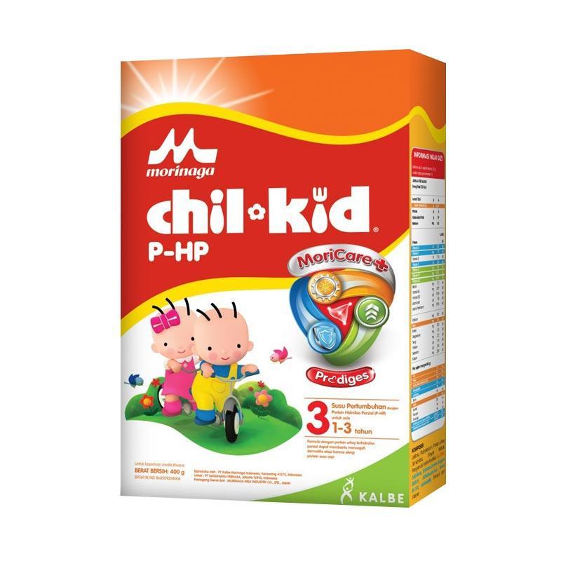 Morinaga Chil Kid P-HP Moricare+ Tahap 3 Susu Formula [400 g]