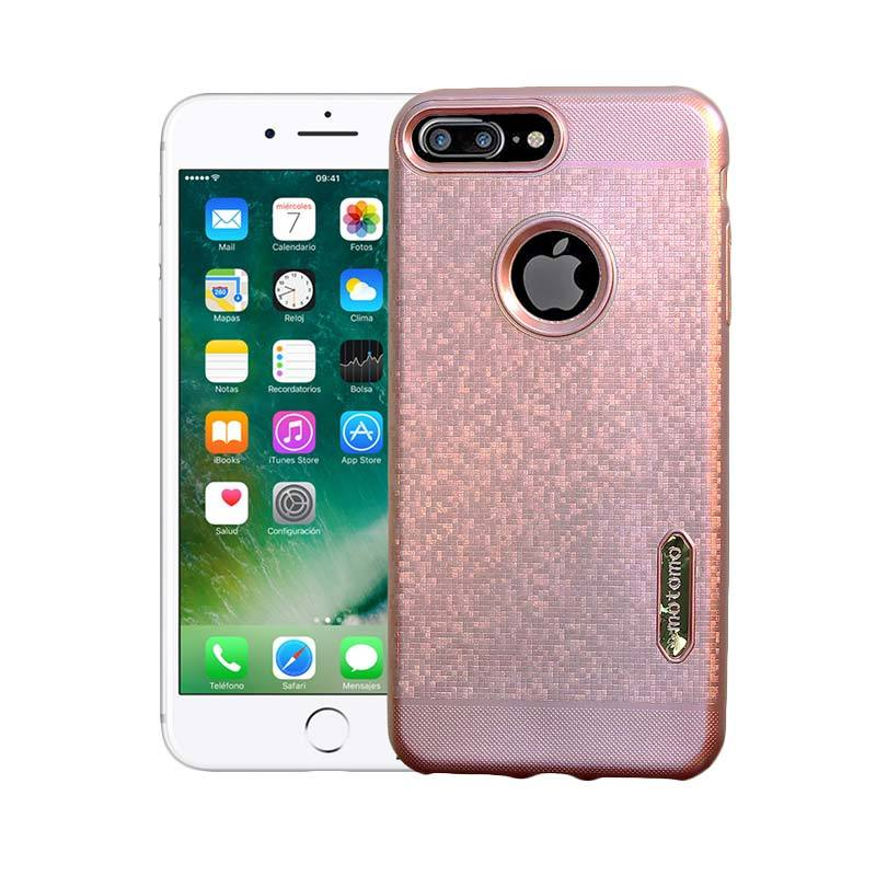 Motomo Softcase Casing for iPhone 7 Plus - Rose Gold