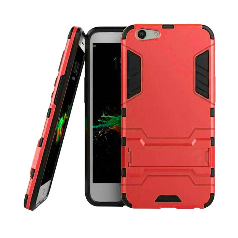 OEM Transformer Robot Iron Man Casing for Oppo F1S A59 - Red
