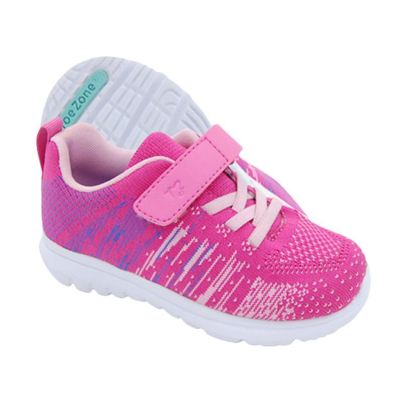 Toezone Kids Tanner Ch Flora Sepatu Anak - Pink