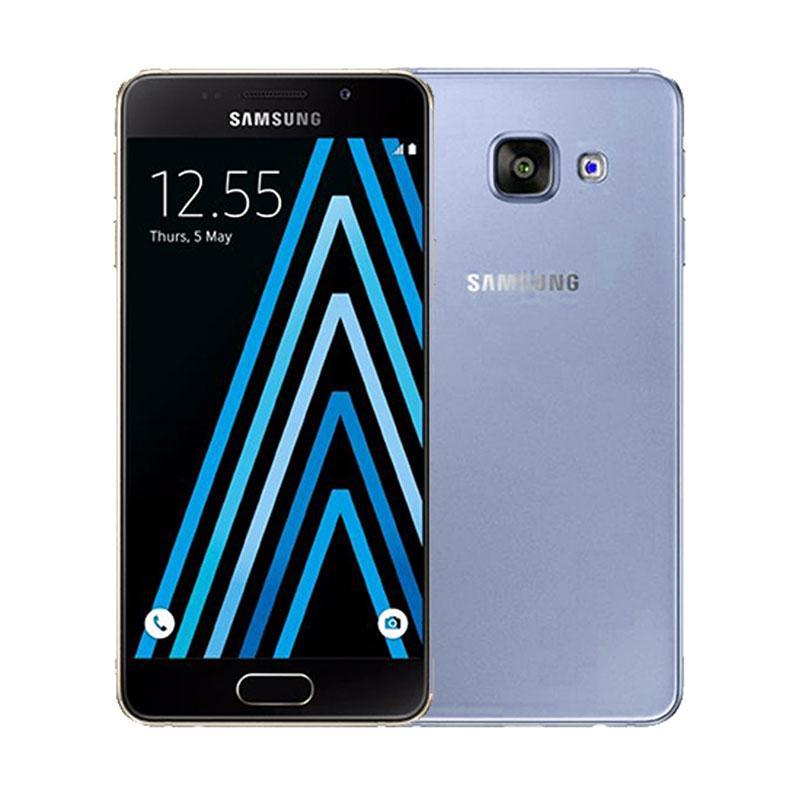 Ultrathin Casing for Samsung Galaxy A3 (2016) SM-A310F - Blue Clear