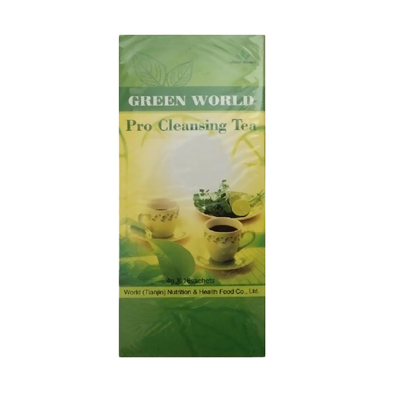 Green World Pro Cleansing Tea Minuman Kesehatan