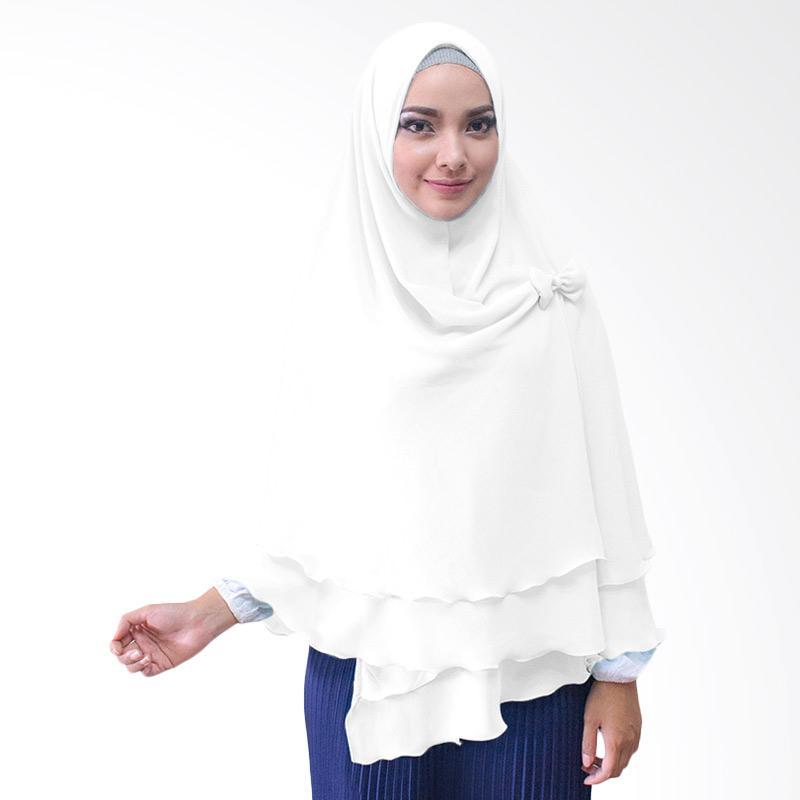 Milyarda Hijab Oki Pita Kerudung Instan - Putih