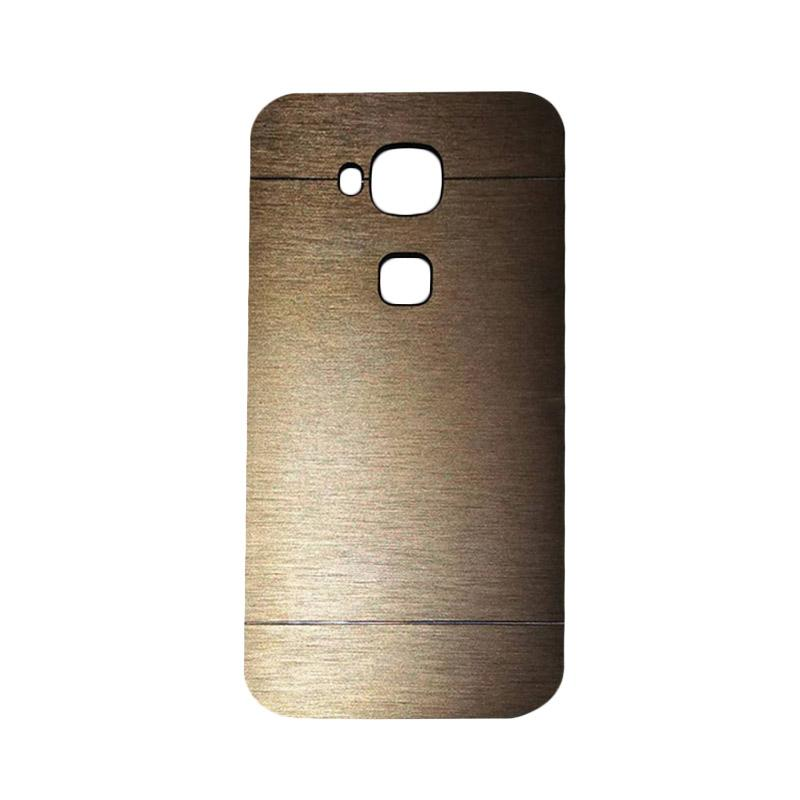Motomo Metal Hardcase Backcase Casing for Huawei G8 - Gold