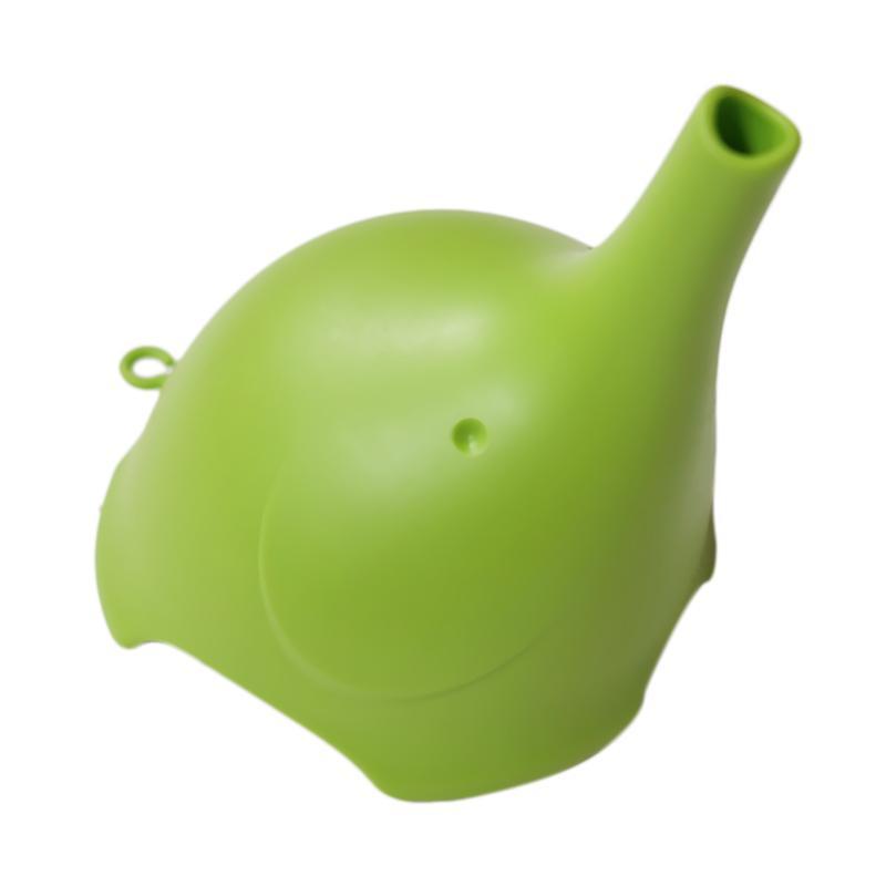 Qualy Ele Elephant Trunk-shaped Funnel Corong - Hijau