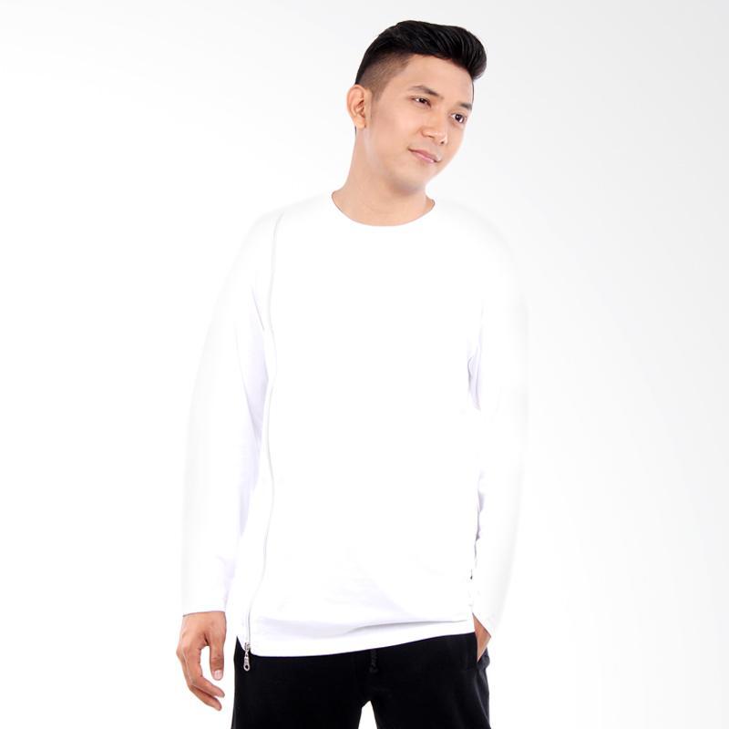Word.o T-shirt Lining Lengan Panjang Kaos Pria - Putih Extra diskon 7% setiap hari Extra diskon 5% setiap hari Citibank – lebih hemat 10%