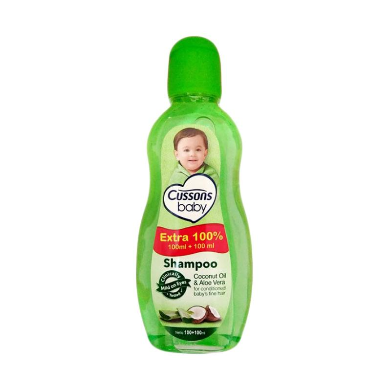 Cussons Coconut Oil and Aloe Vera Baby Shampoo [100+100 mL]
