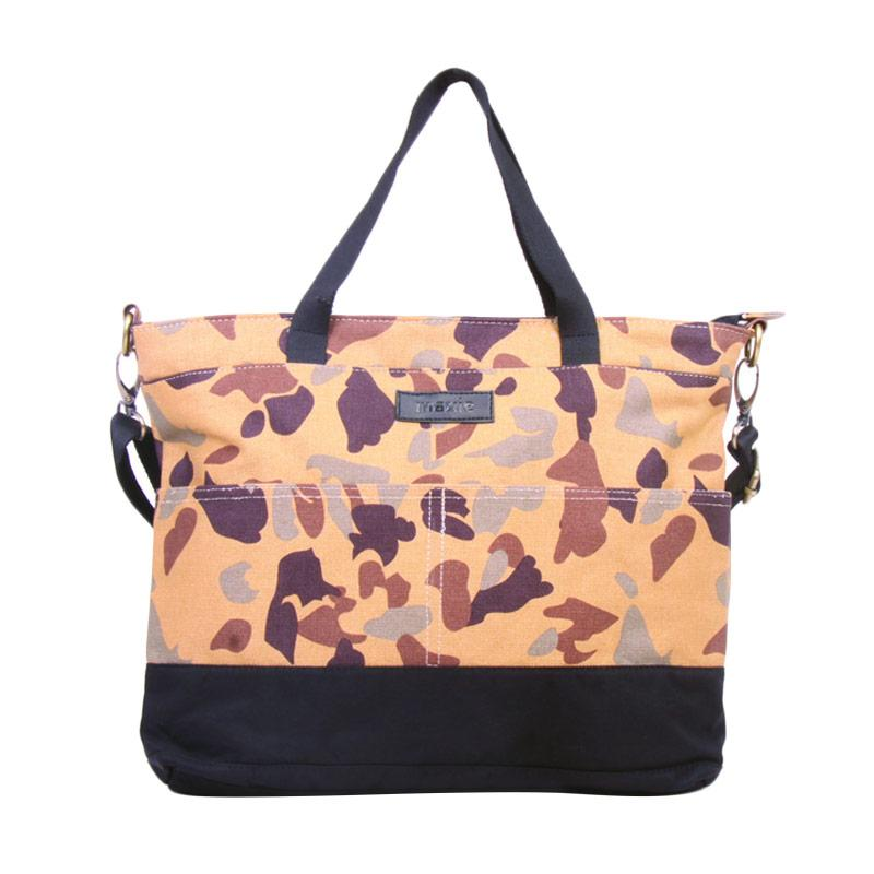 Maxie BTO.42 Tote Bag Sling Tas Wanita - Mocca Army Pattern