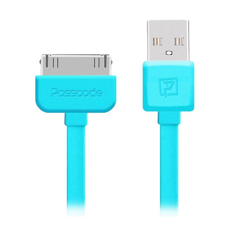 Passcode Athena Lightning 30pin Cable - Blue [Fast Charging]