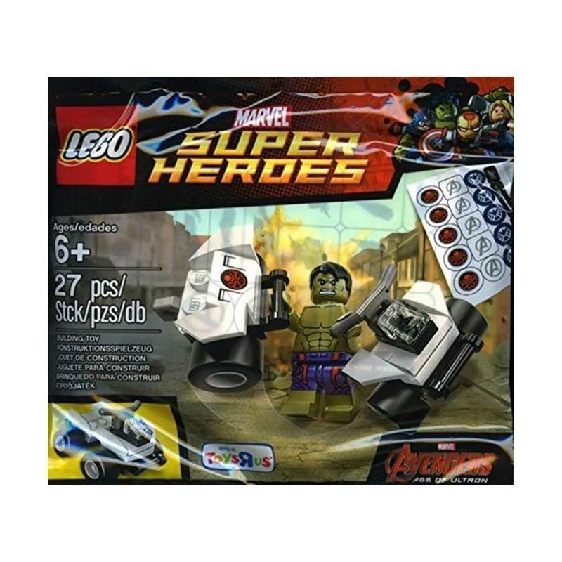 LEGO 30084 Marvel Super Heroes Avengers - Age Of Ultron Hulk Mainan Blok