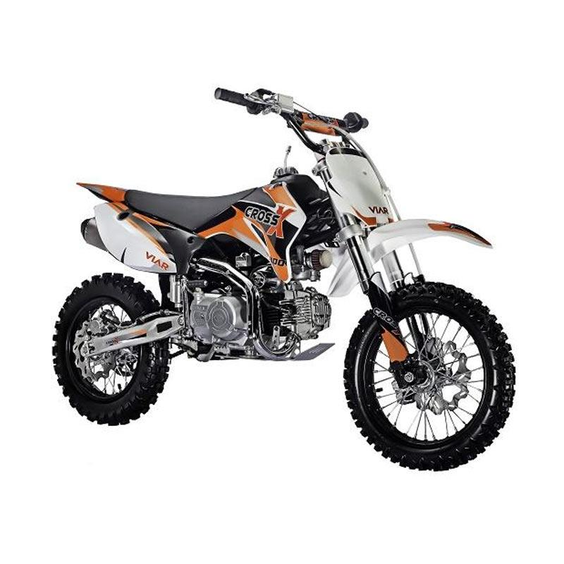 harga Viar Cross X 100MT Mini Trail Sepeda Motor Cross - Orange Blibli.com