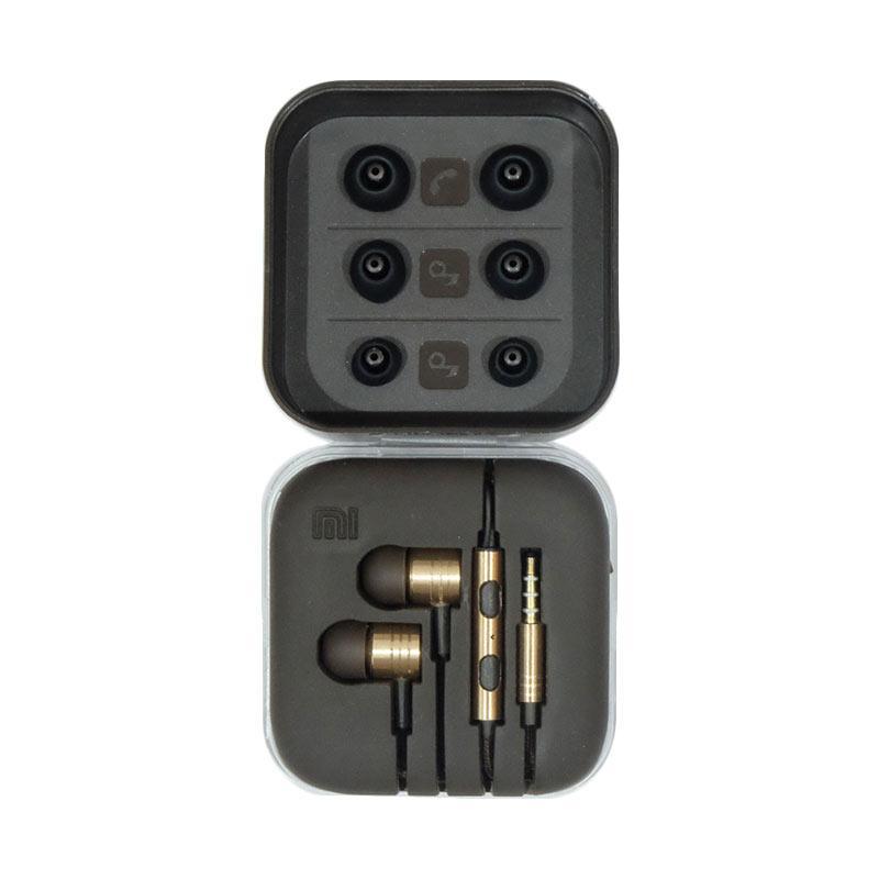 Jual Xiaomi Piston Mi Original 2nd Generation Headset Earphone - Gold Online - Harga & Kualitas Terjamin | Blibli.com