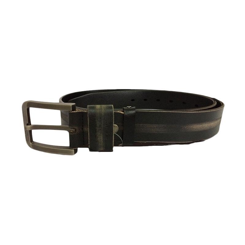 Arrow BP-AR2124CSA33-3CS Leather Belt Ikat Pinggang Pria - Hitam
