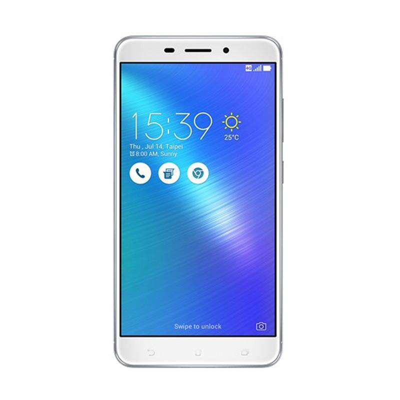 Asus Zenfone 3 Laser ZC551KL Smartphone - Silver [32GB/ RAM 4GB]