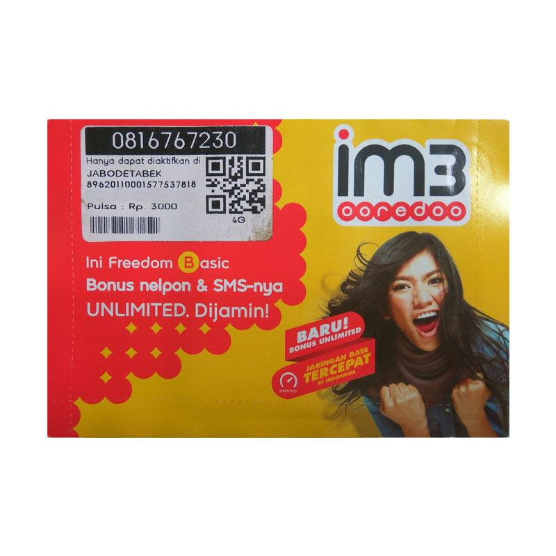 Indosat IM3 10 Digit Nomor Cantik 081 6767 230 Kartu Perdana [4G LTE]