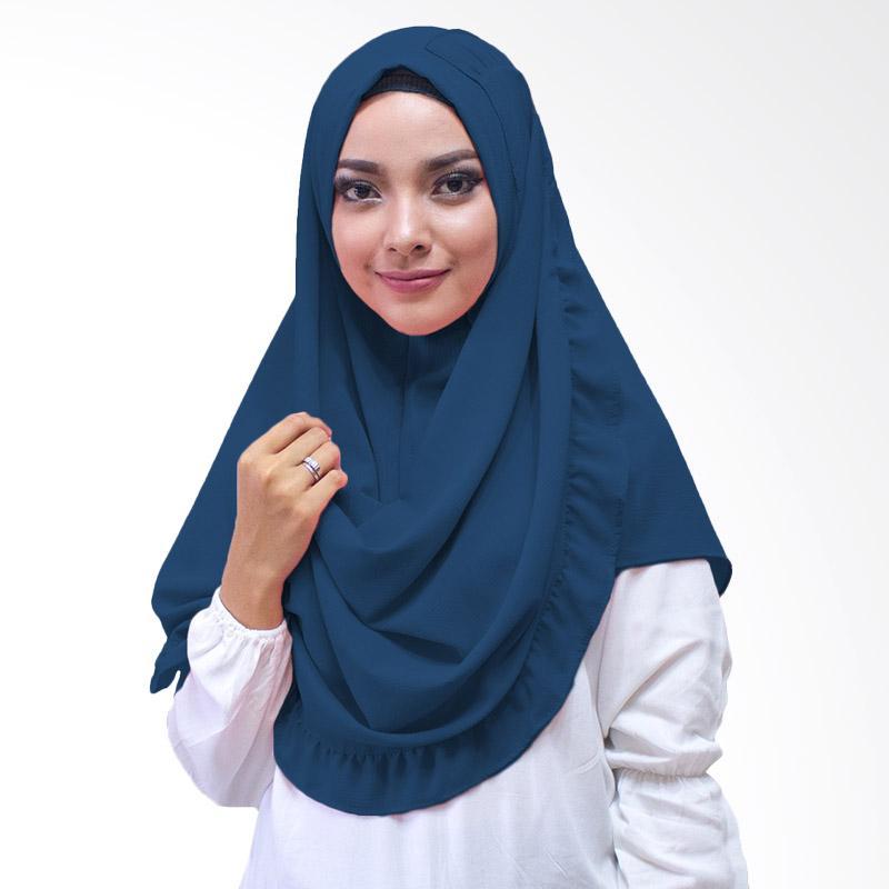 Milyarda Hijab Kenisha Kerudung Instan - Dongker