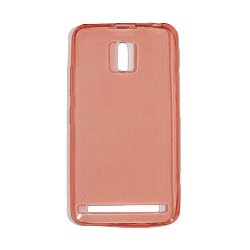 VR Ultra Thin Silicone Softcase Casing for Lenovo A6600 - Red