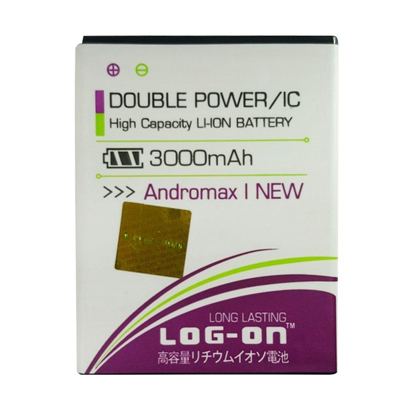 Log On Double Power Battery for Andromax I New [3000 mAh]