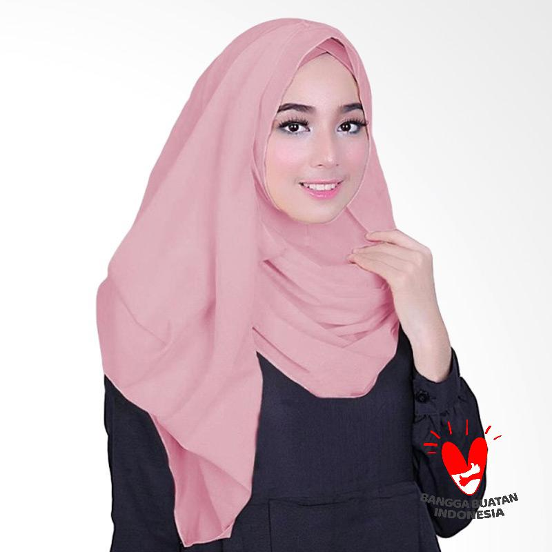 Milyarda Hijab Fusia Jilbab Instant - Dusty Pink