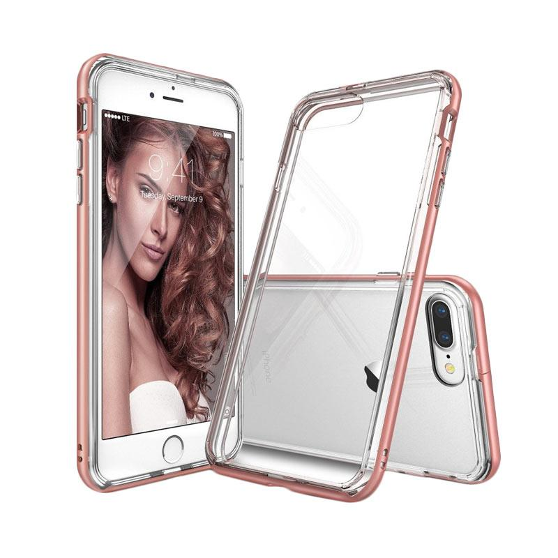 Rearth Ringke Frame Casing for iPhone 7 Plus - Rose Gold