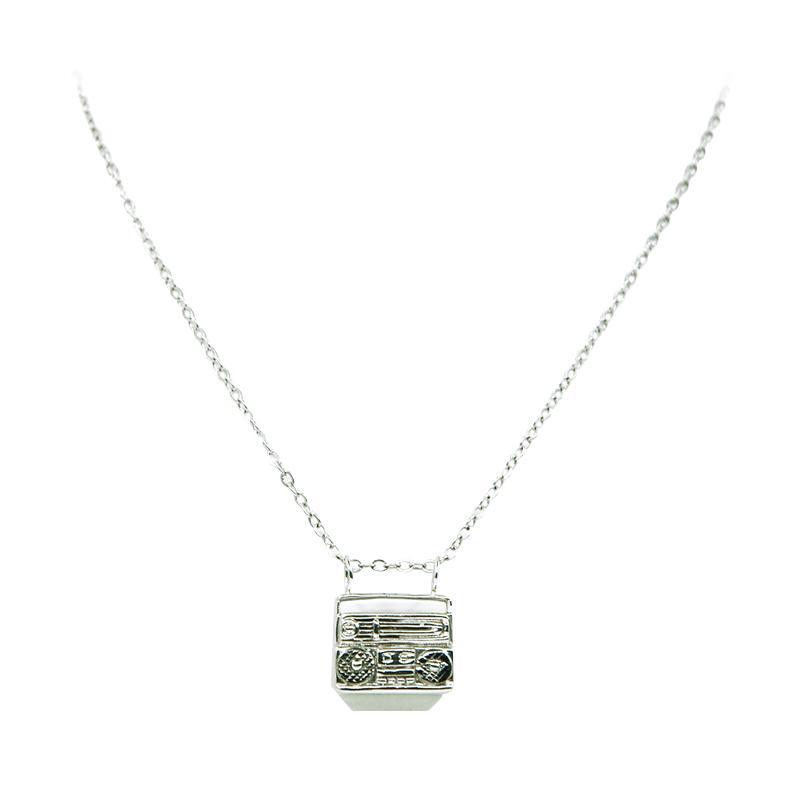 harga The Moes & Knot Jewelry Radio Necklace Blibli.com