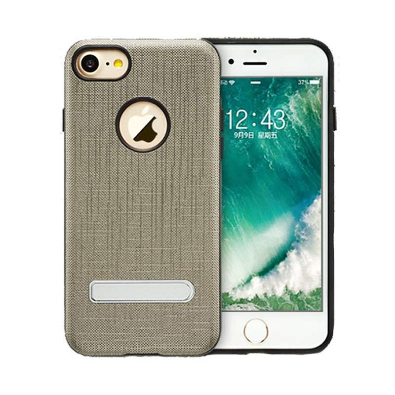 Totu King Series Wove Stent Casing for iPhone 7 - Gold