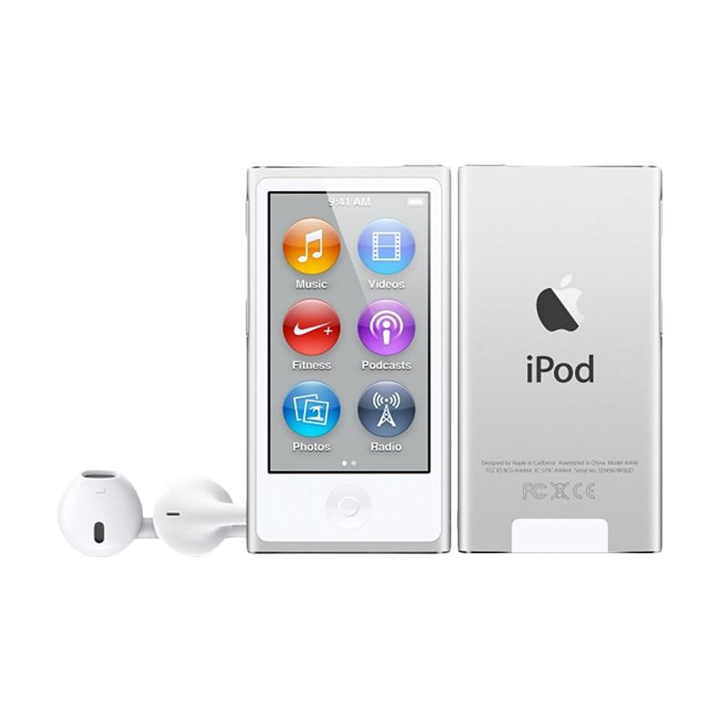 harga Apple iPod Nano 7th Gen 16 GB Portable Player - SIlver [Garansi Internasional] Blibli.com