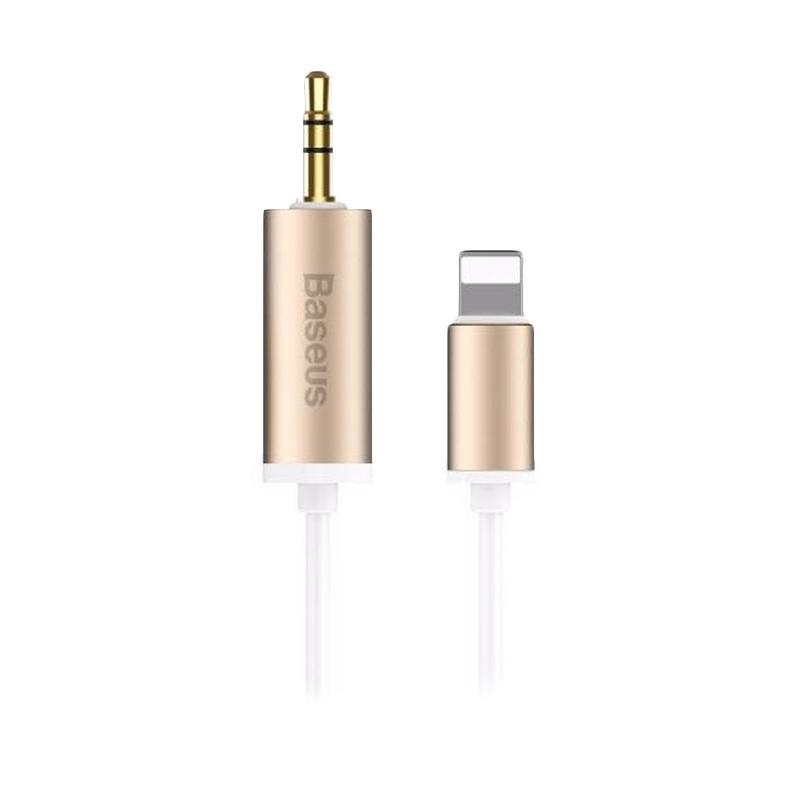Baseus Enjoy Apple Transfer Male Audio Cable - Gold [1.2 m]