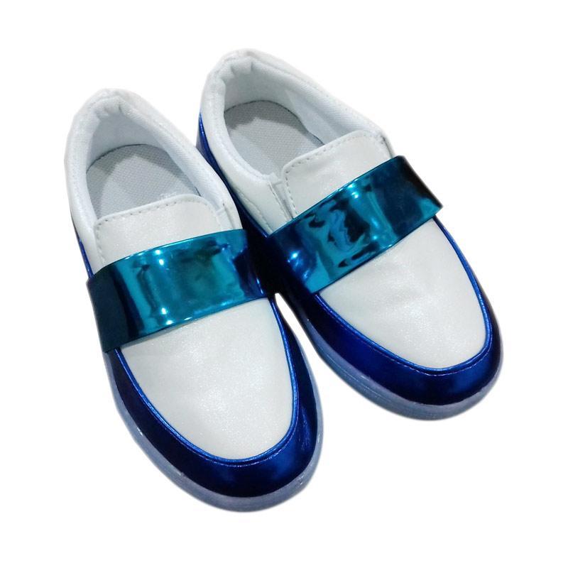 Chloe Babyshop Slip On Lampu S169 Sepatu Anak - White