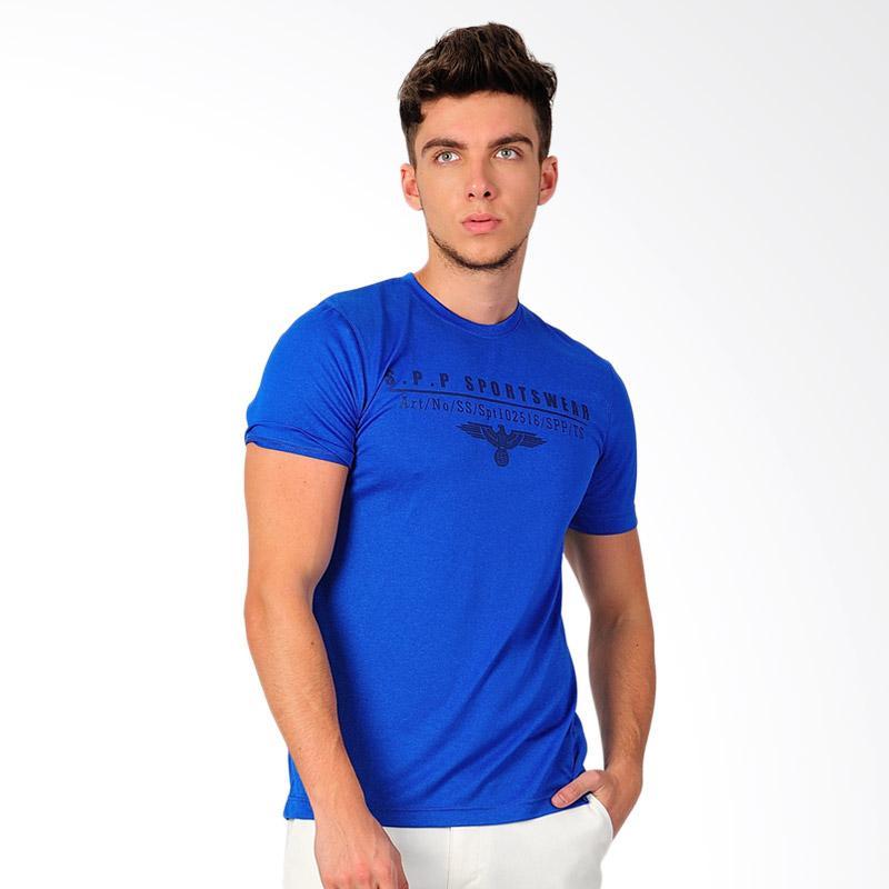 SJO & SIMPAPLY SPP Amoure Mens T-Shirt - Blue