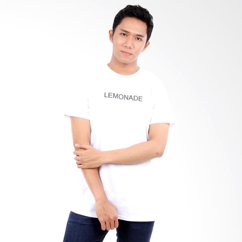 Word.o T-shirt Lemonade Lengan Pendek Kaos Pria - Putih Extra diskon 7% setiap hari Extra diskon 5% setiap hari Citibank – lebih hemat 10%