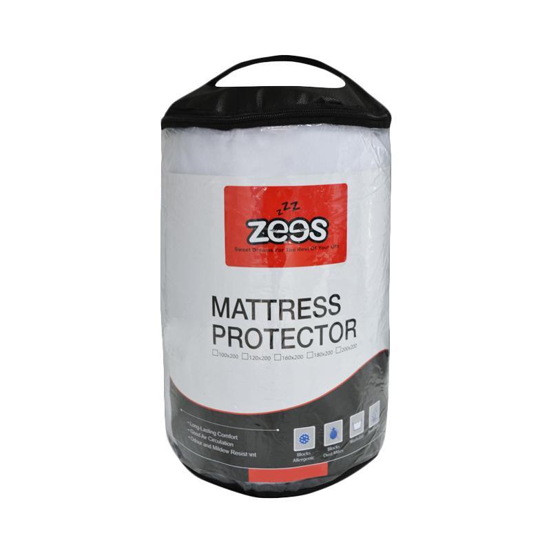 Zees Elastic Band Mattress Protector [200 x 200 cm]