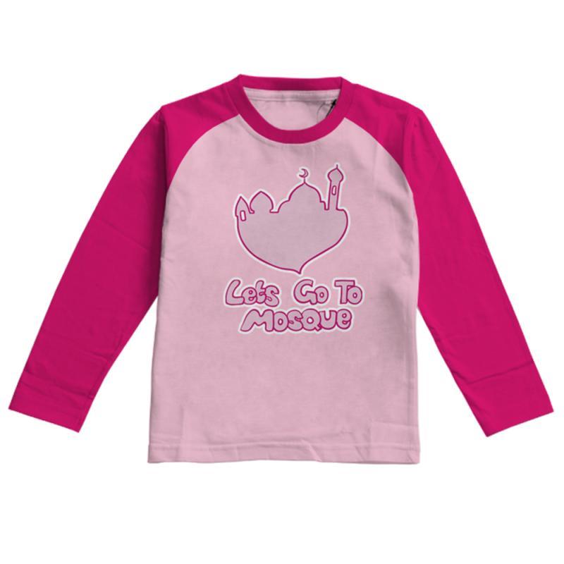 Aitana AiK-16-012 Letsgo Kids Kaos Muslim Anak Perempuan - Pink