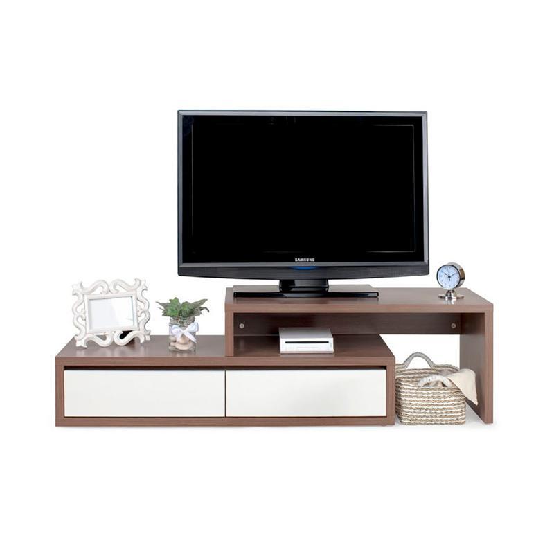 Ben Furniture Melamine 1300 Rak TV [129 x 40 x 40 cm]