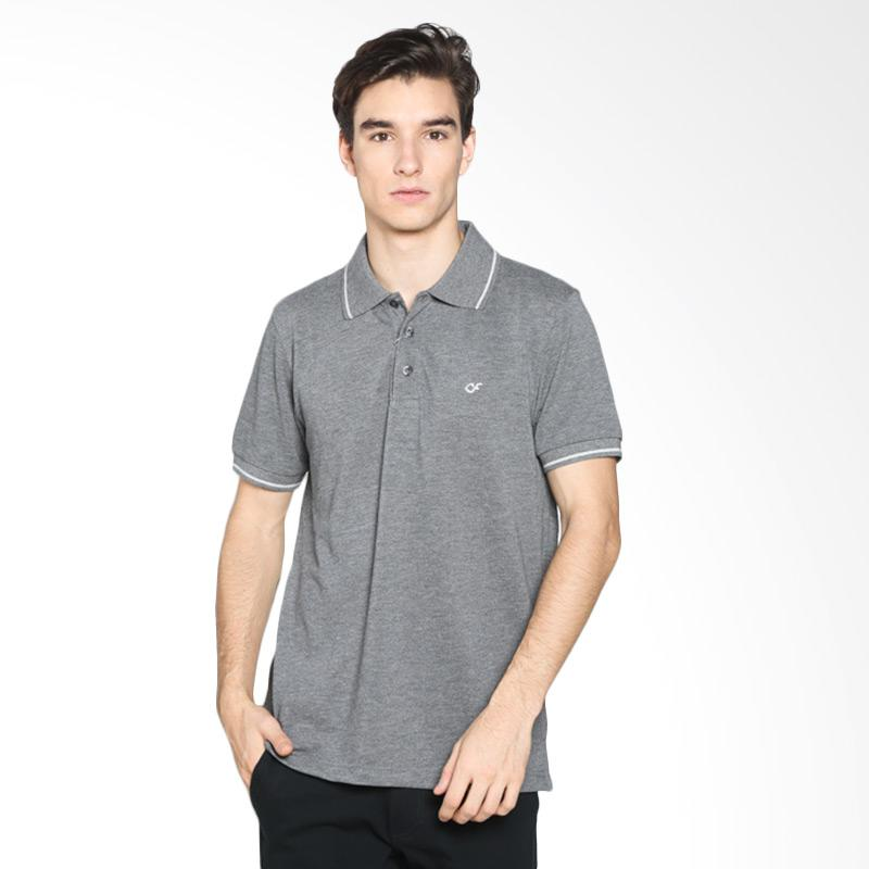 Country Fiesta M80 CFMPB11836 Mens Polo - Misty