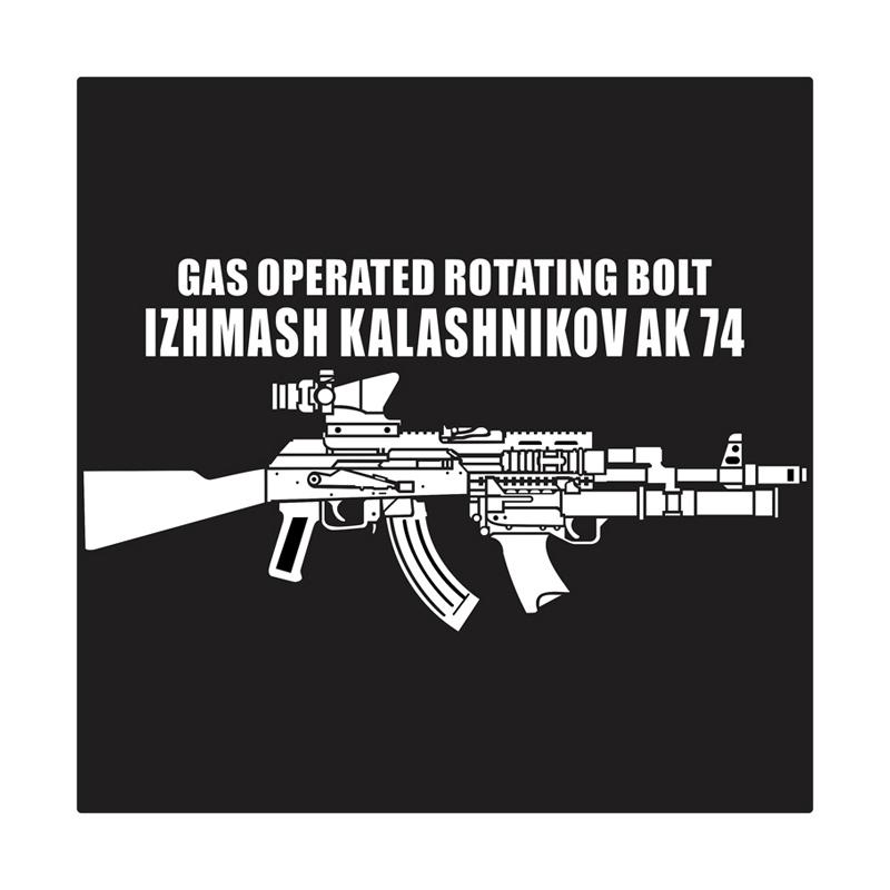 Kyle AK 74 With Tishina Grenade Launcher Cutting Sticker