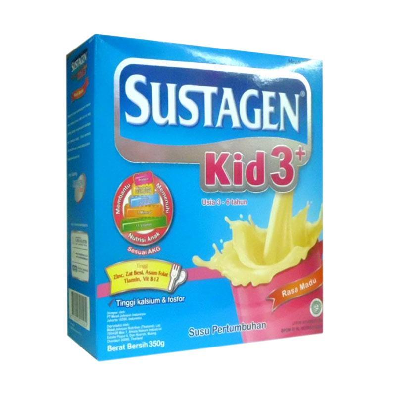 MeadJohnson Sustagen Kid 3+ Madu Susu Formula [350 g]