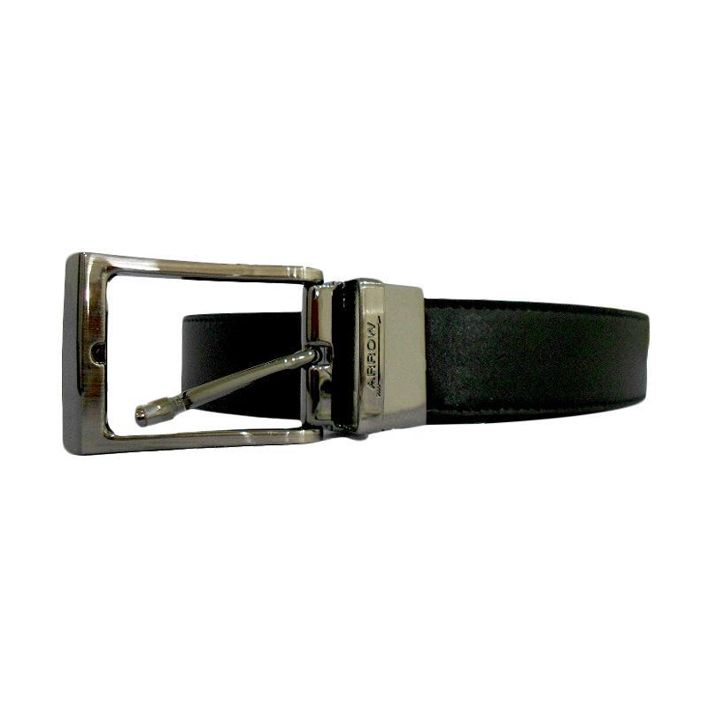 Arrow Leather Belt BP-AR2124TPH-B35-3133 Ikat Pinggang Pria - Hitam