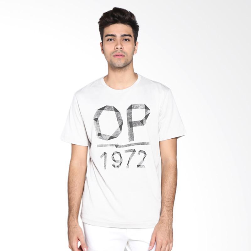 Ocean Pacific Fashion 03MTF91331 Mens T-Shirt - Light Grey Extra diskon 7% setiap hari Extra diskon 5% setiap hari Citibank – lebih hemat 10%
