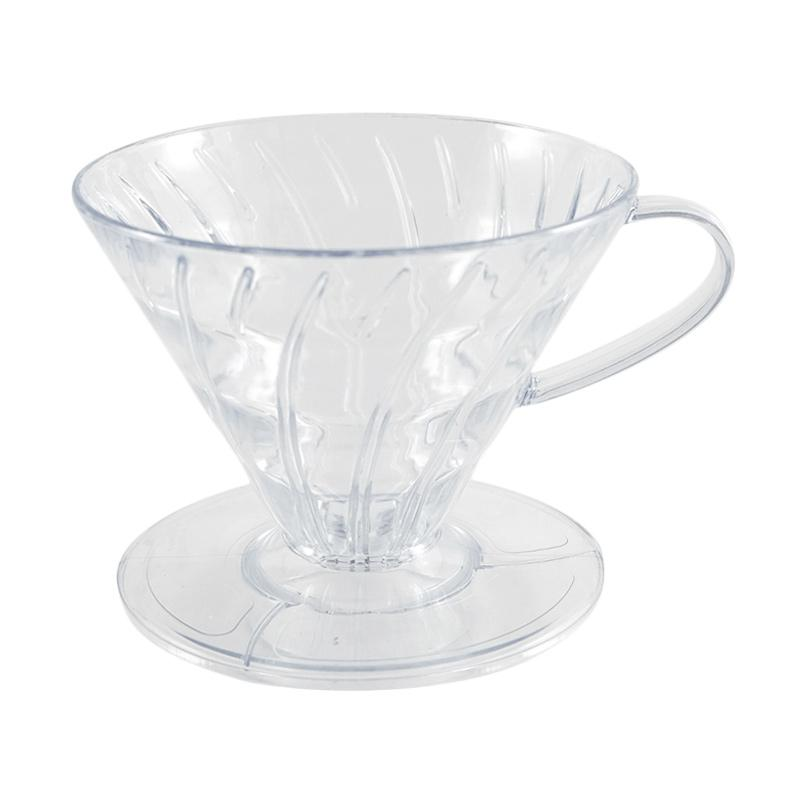 Worcas V60 Acrylic Pour Over Dripper - Transparent
