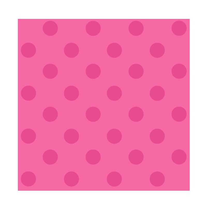 york york polkadot bright pink wallpaper sticker dinding full02