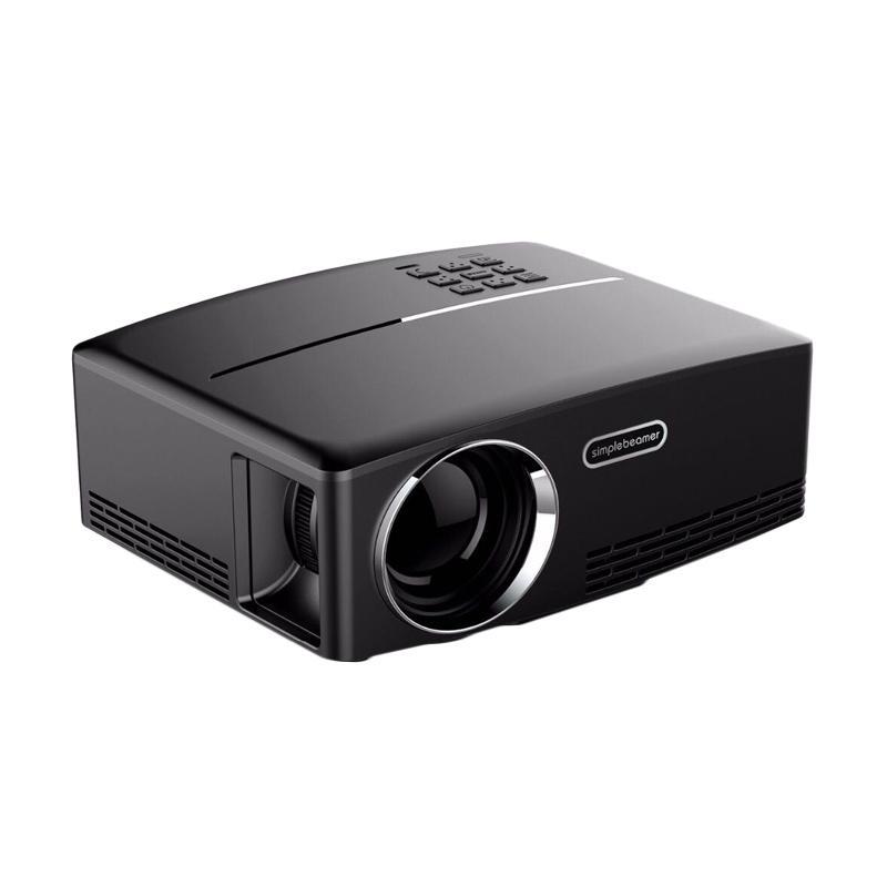 G-HOLIC GP80 Mini Projector LED [1800 Lumens/Full HD Quality]