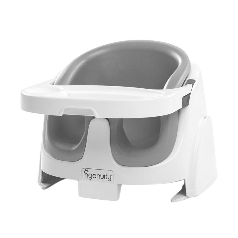 Ingenuity 60533 Baby Base 2 in 1 Grey Kursi Makan Bayi  - Grey