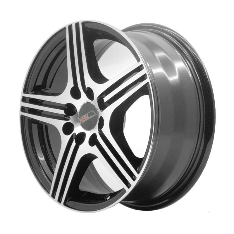 harga HSR Wheel XR75 524 Ring 15X65 4X100/14,3 ET40 Black Machine Face Blibli.com