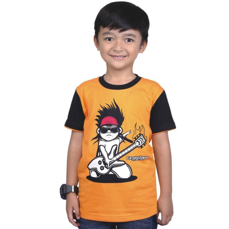 Catenzo Junior CJR CPS 046 T-Shirt Baju Atasan
